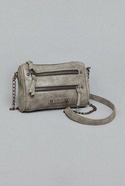 Westside Grey Solid Sling Bag