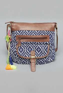 Westside Navy Ikat Stella Sling Bag