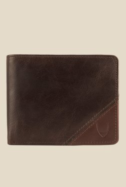 Hidesign 255-2020S Soho Brown Bi-Fold Leather Wallet