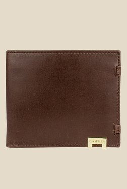 Hidesign 280-2020 Cow Escada Brown Bi-Fold Leather Wallet