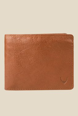 Hidesign L106 Regular Tan Bi-Fold Leather Wallet
