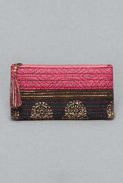 Westside Black & Pink Nainvi Travel Pouch