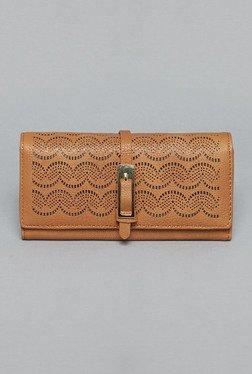 LOV By Westside Brown Solid Wallet