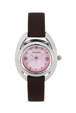 Sonata 8960SL03CJ Professional Analog Watch for Women image