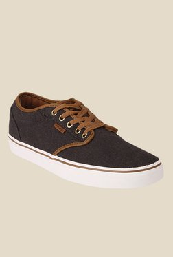 Vans Atwood Black   Brown Sneakers 5afe4080a
