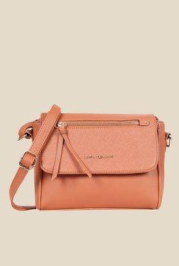 Lino Perros Brown Solid Sling Bag - Mp000000000639532