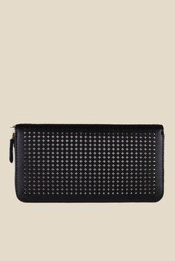 Lino Perros Black Textured Wallet