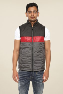 Pepe Jeans Grey Solid Jacket