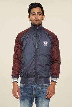 Pepe Jeans Blue Solid Jacket