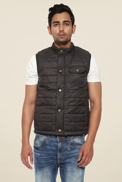 Pepe Jeans Black Quilted Jacket