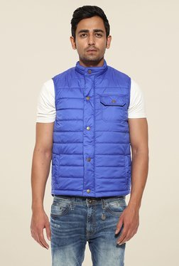 Pepe Jeans Blue Quilted Jacket