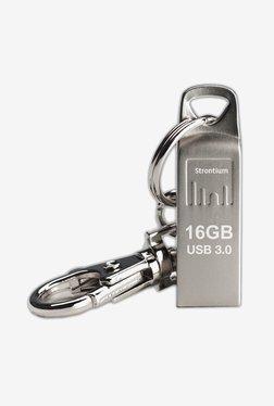 Strontium 16 GB AMMO USB 3.0 Pen Drive (Silver)