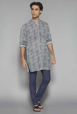ETA By Westside Grey Slim Fit Kurta
