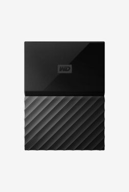 WD My Passport 4 TB Portable Hard Drive (Black)