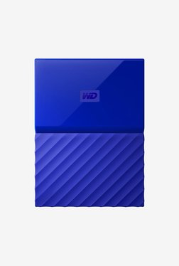 WD My Passport 2 TB Portable Hard Drive (Blue)