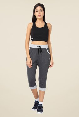 Proline Grey Textured Capris