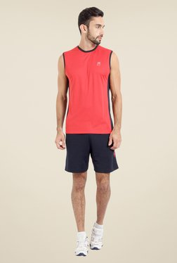 Proline Red Solid T Shirt