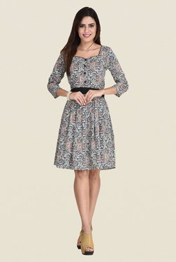 The Gud Look Multicolor Printed Dress