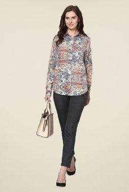 The Gud Look Multicolor Printed Shirt