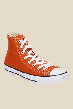 Converse All Star Series Roasted Carrot & White Sneakers