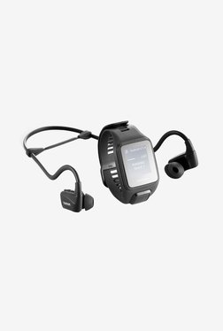 TomTom Spark 3 Music GPS Fitness Watch + HP (Black, Large)