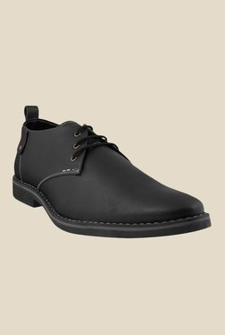 Gen X by Metro Black Derby Shoes