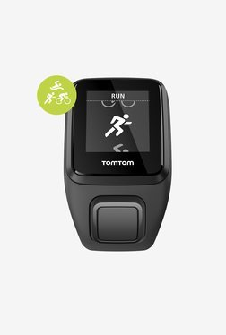 TomTom Spark 3 Multisport GPS Fitness Watch (Black, Small)