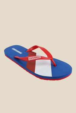 Converse Red & Royal Blue Flip Flops