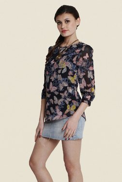 The Gud Look Multicolor Printed Top