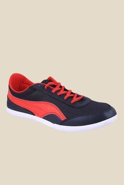 Globalite Wing 4 In 1 Navy & Red Sneakers