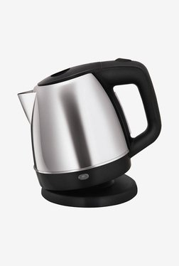Glen GL 9008 1.0 L Electric Kettle (Silver/Black)