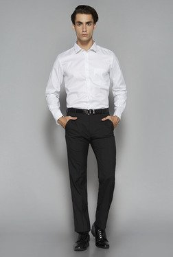 Weststreet by Westside White Tailored Fit Shirt