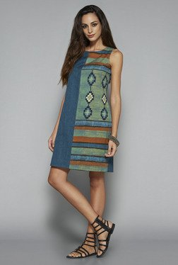 Bombay Paisley by Westside Green Sheath Dress