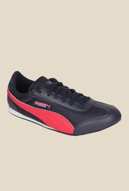 Puma Navy & Red Training Shoes