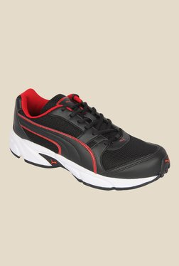 Puma Strike II DP Black Running Shoes