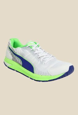 Puma Sequence V2 DP White Running Shoes