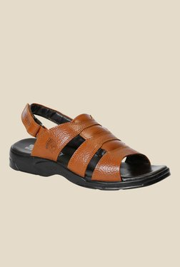 Red Chief Brown Back Strap Sandals