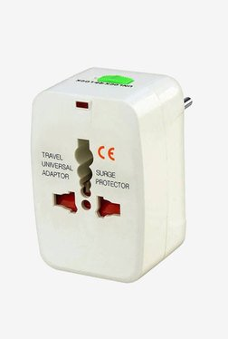 Novel traveladp-001 Travel Adapter (White)