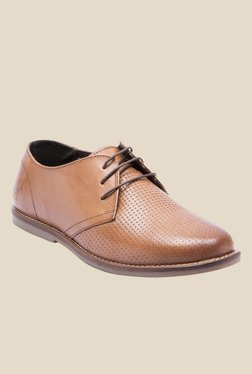 Yezdi Tan Derby Shoes