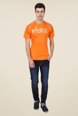 Spunk Orange Message T Shirt