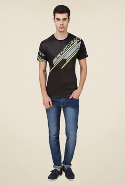 Spunk Black Performance T Shirt