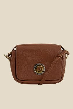 Da Milano Con Leather Sling Bag