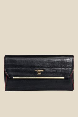 Da Milano Navy Leather Wallet