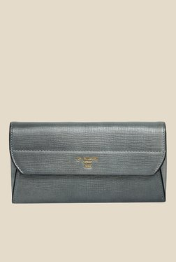 Da Milano Grey Leather Wallet - Mp000000000688741