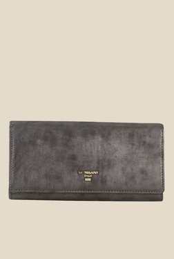 Da Milano Grey Leather Wallet - Mp000000000688775