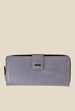 Da Milano Purple Leather Wallet