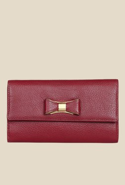 Da Milano Berry Leather Wallet