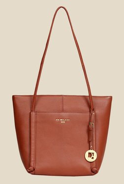 Da Milano Con Leather Tote Bag