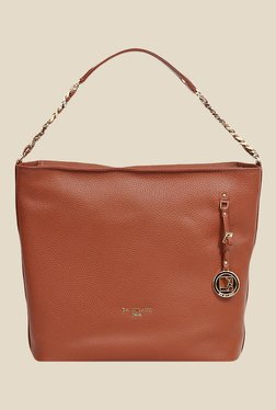 Da Milano Con Leather Shoulder Bag