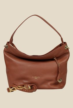 Da Milano Con Leather Shoulder Bag - Mp000000000689132